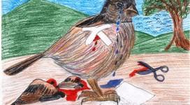 Disegno uccellino