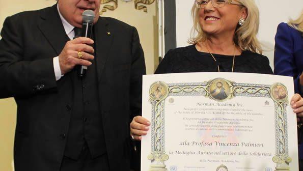 Galà 2018 – Il Gemellaggio con la Norman Academy e la consegna della Medaglia Aurata al Pres. Palmieri