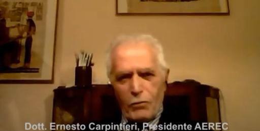 Video Ernesto Carpintieri,  Presidente AEREC – Arte, Cultura e Scienza per i Diritti Umani contro la Filiera Psichiatrica