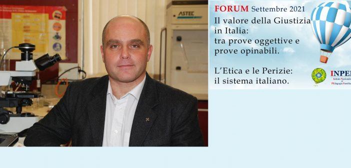 """Prof. Stefano Vanin: """"Meno retorica, più Scienza. Interpretazione probabilistica delle prove"""""""
