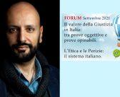 Dr. Pier Matteo Barone: un occhio sempre attento all'Etica; dovrebbe essere in cima ai pensieri di chi vuole intraprendere questo cammino
