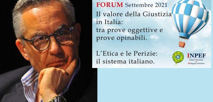 """Gen. Dr. Luciano Garofano: """"La Prova scientifica: è sempre giusto processo?"""""""