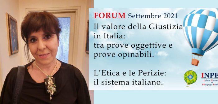Prof.ssa Stefania Petrera: «L'urgenza di rinnovare la formazione per migliorare le competenze peritali»
